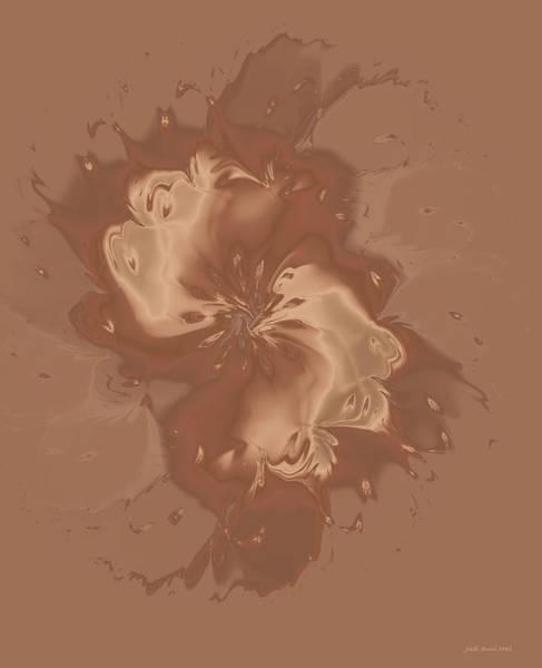 Digital Art - Satin Flower by Judi Suni Hall