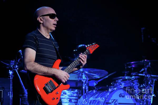 Joe Satriani Photograph - Satriani 3368 by Timothy Bischoff