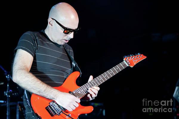 Joe Satriani Photograph - Satriani 3377 by Timothy Bischoff