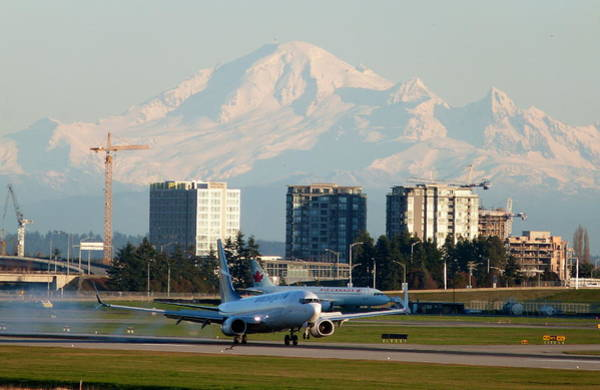 Vancouver International Airport Wall Art - Photograph - Saturday February 21 2015 by Darrell MacIver