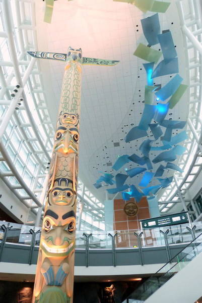 Vancouver International Airport Wall Art - Photograph - Saturday January 24 2015 by Darrell MacIver