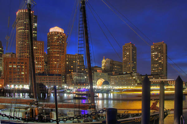 Photograph - Saturday Night Boston Hustle by Joann Vitali