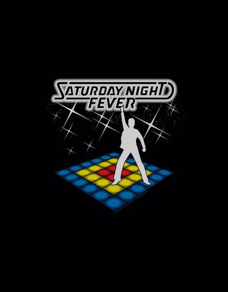 Wall Art - Digital Art - Saturday Night Fever - Should Be Dancing by Brand A