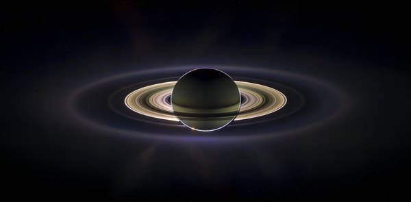 Skyscape Photograph - Saturn by Adam Romanowicz