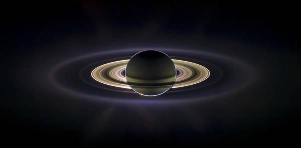 Photograph - Saturn by Adam Romanowicz