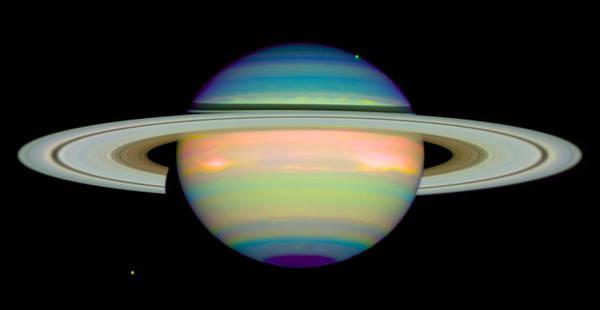 Photograph - Saturn by Nasa