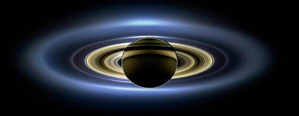 Mars Photograph - Saturn by Nasa/jpl-caltech/ssi