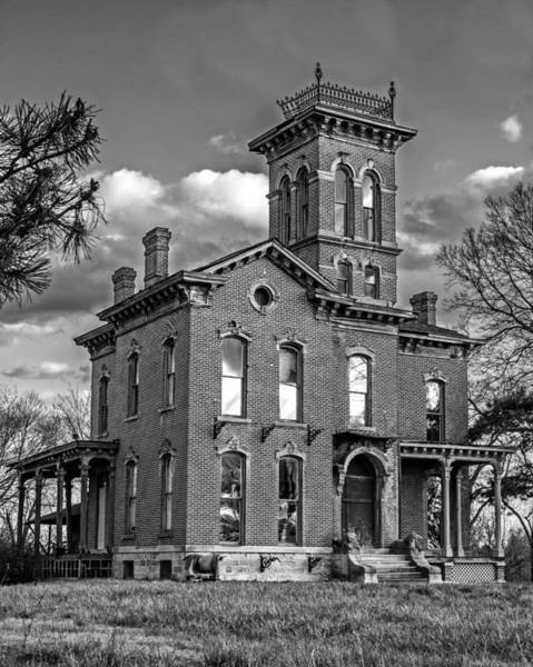 Wall Art - Photograph - Sauer Castle Bw by Kevin Anderson