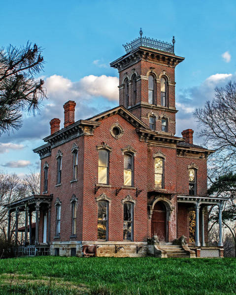 Wall Art - Photograph - Sauer Castle by Kevin Anderson