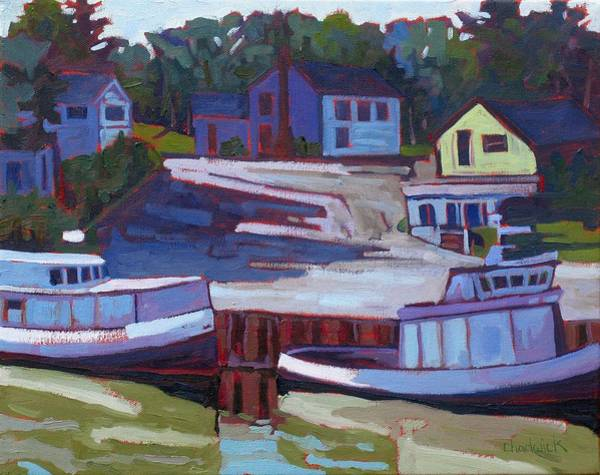 Birder Painting - Saugeen Fleet by Phil Chadwick
