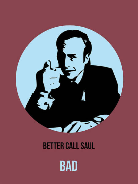 Bad Wall Art - Painting - Saul Poster 1 by Naxart Studio