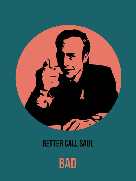 Bad Wall Art - Painting - Saul Poster 2 by Naxart Studio