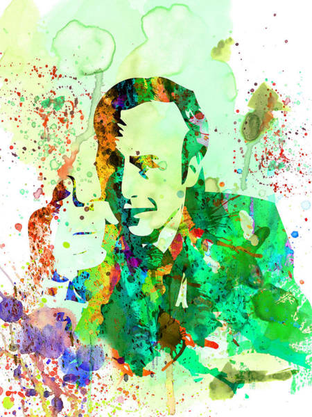 Bad Wall Art - Painting - Saul Watercolor by Naxart Studio