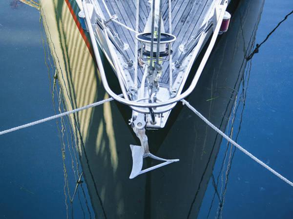 Photograph - Sausalito Reflection by Tom Singleton