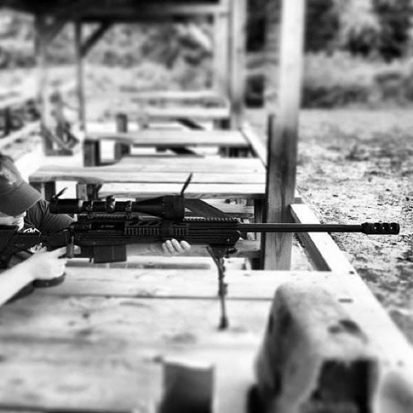 Rifles Photograph - Savage 110ba 338 Lapua 💗 #selfie by Ashley Sandler