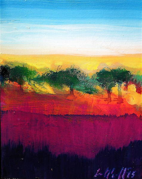 Painting - Savanna by Les Leffingwell