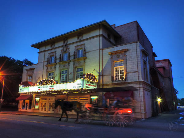 Photograph - Savannah - Lucas Theatre 001 by Lance Vaughn