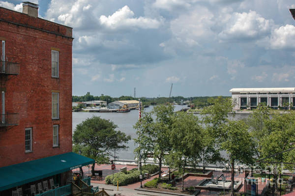 Photograph - Savannah Waterfront by Dale Powell
