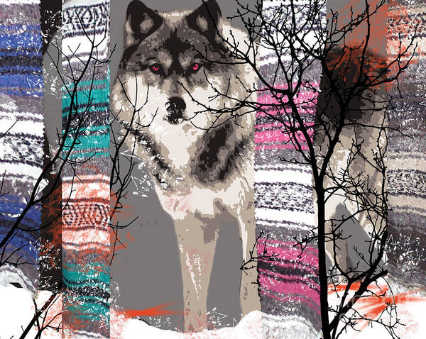 Timber Wolves Digital Art - Save The Wolves by Kim Prowse