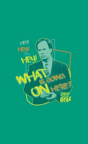 Bell Digital Art - Saved By The Bell - Mr. Belding by Brand A