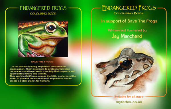 Painting - Saving  Frogs by Hartmut Jager
