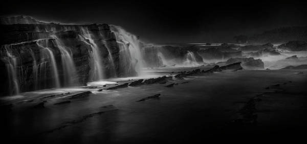 Sawarna Beach Art Print