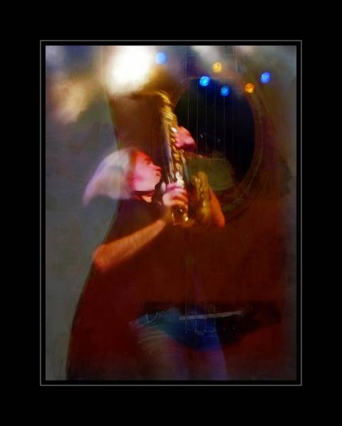 Photograph - Sax By Guitar by Alice Gipson