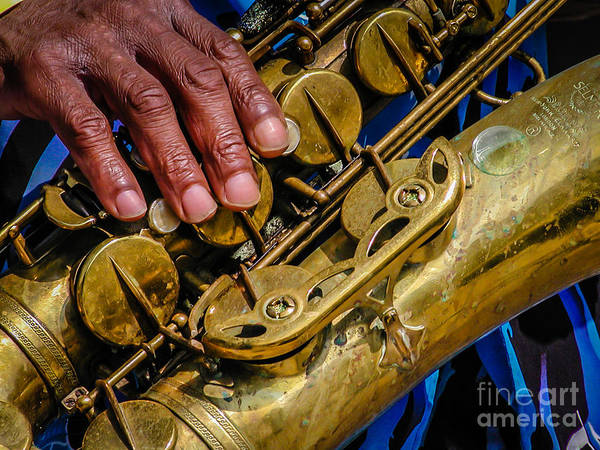 Photograph - Sax by George DeLisle