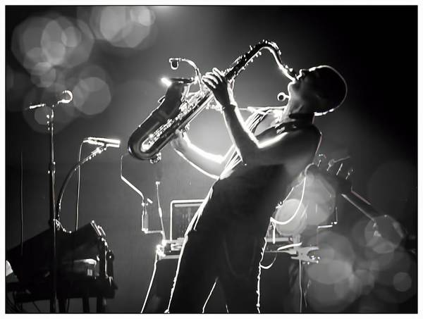Photograph - Sax In Black by Alice Gipson