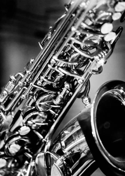 Hakon Photograph - Saxophone by Hakon Soreide