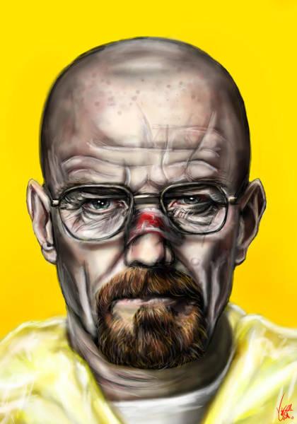 Bryan Painting - Say My Name by Vinny John Usuriello