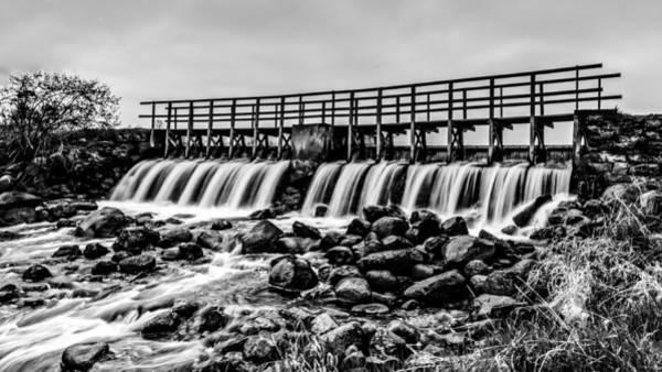 Photograph - Saylesville Mill Pond by Randy Scherkenbach