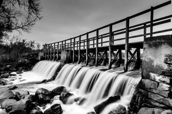 Photograph - Saylseville Mill Pond by Randy Scherkenbach