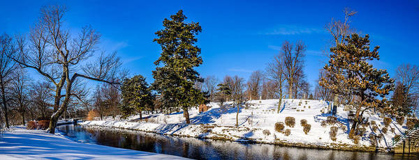 Photograph - Scajaquada Creek Through Forest Lawn by Chris Bordeleau