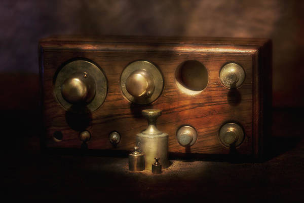 Brass Photograph - Scale Weights Still Life II by Tom Mc Nemar