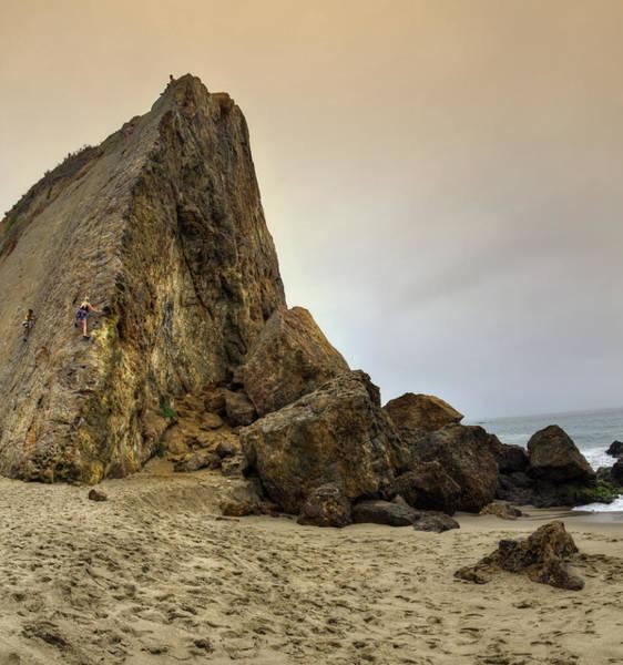 Wall Art - Photograph - Scaling Cliffs by Ricky Barnard