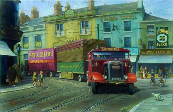 Wall Art - Painting - Scammell Showtrac by Mike Jeffries