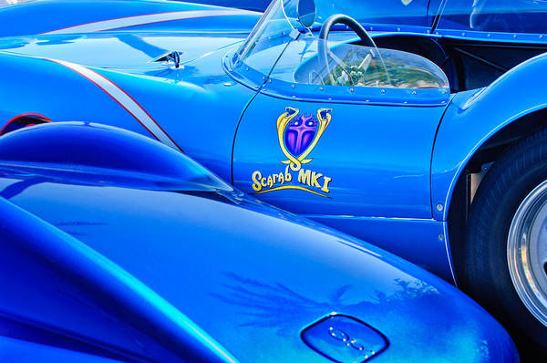 Photograph - Scarab Roadsters - 1958 by Jill Reger