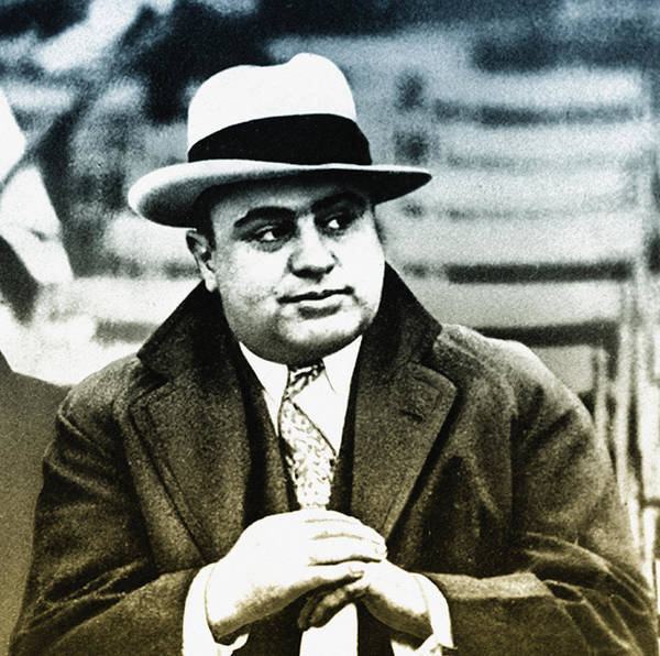 Wall Art - Photograph - Scarface - Al Capone by Bill Cannon