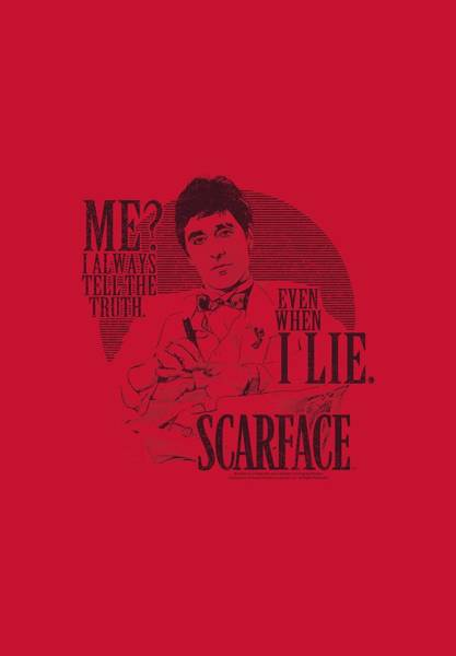Wall Art - Digital Art - Scarface - Truth by Brand A