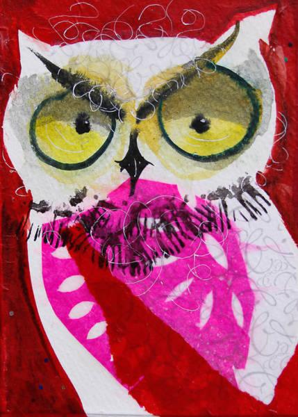 Painting - Scarlett by Laurel Bahe