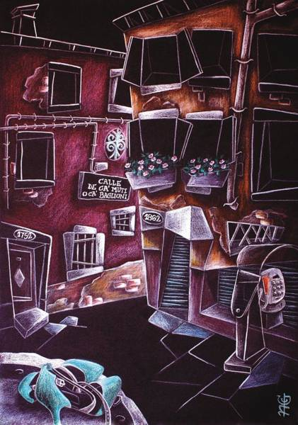 Wall Art - Painting - Scarpe Da Tango - Contemporary Venetian Artist - Modern Art by Arte Venezia