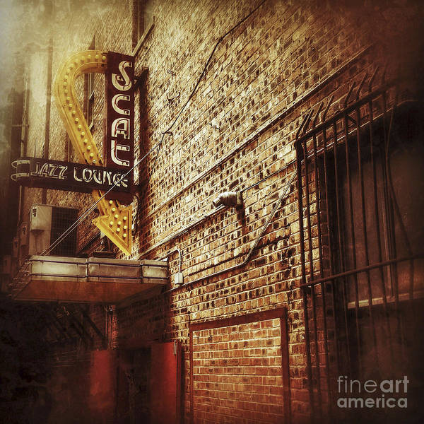 Wall Art - Photograph - Scat Jazz Lounge by Elena Nosyreva