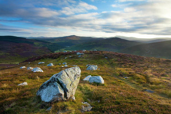 Messier Object Photograph - Scattered Boulders Near Lough Tay In by Gareth Mccormack