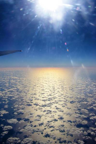 Cumulus Photograph - Scattered Clouds Over The Atlantic. by Mark Williamson/science Photo Library