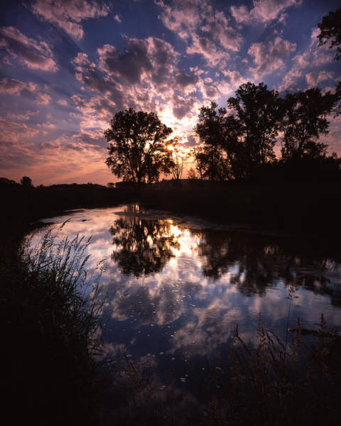 Photograph - Scattered Sunrise by Ray Mathis