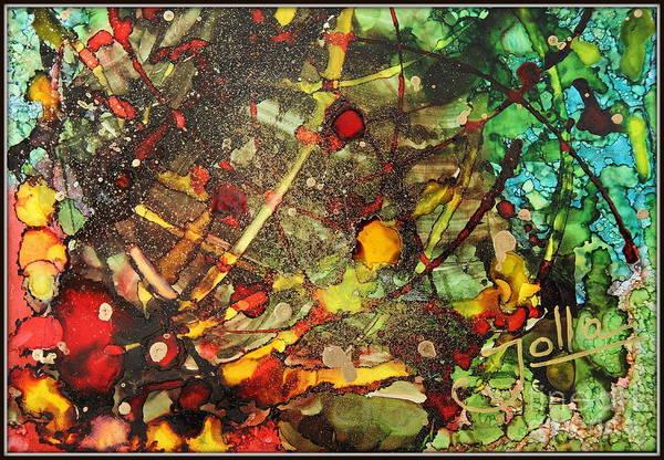 Painting - Scattered Thoughts.. by Jolanta Anna Karolska