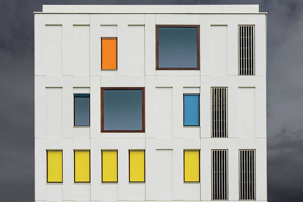 Facade Photograph - Scattered Windows by Luc Vangindertael (lagrange)