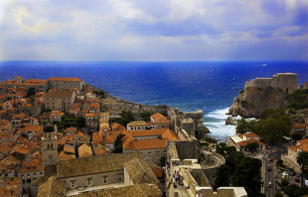 Wall Art - Photograph - Scene From Above - Dubrovnik by Madeline Ellis