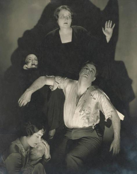Wall Art - Photograph - Scene From Eugene O'neill's 'the Great God Brown' by Edward Steichen